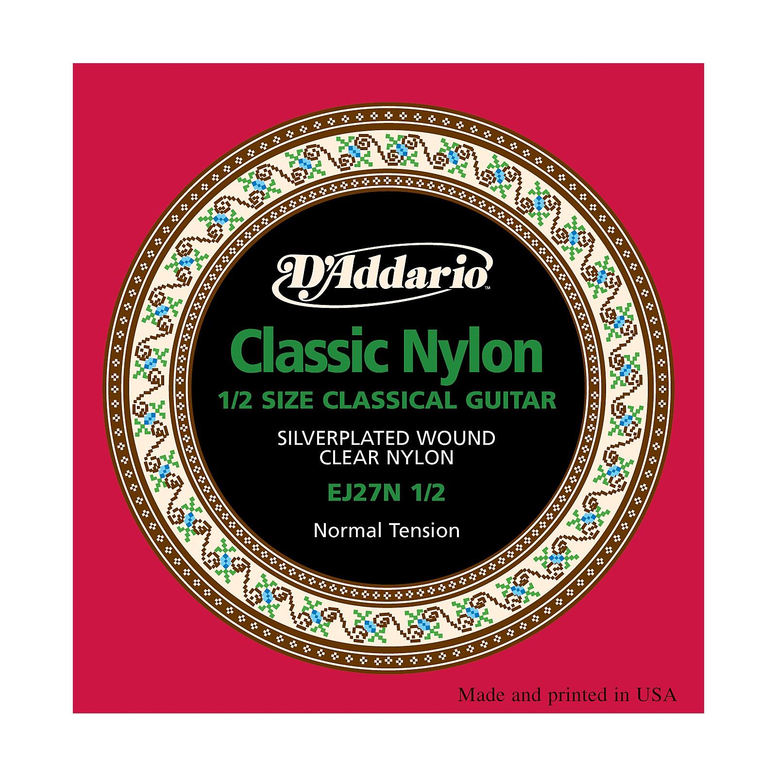 D'Addario EJ27 Nylon Classical Guitar Strings - 1/2 Size