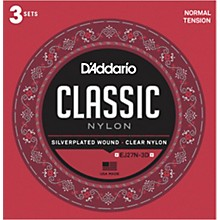 D'Addario EJ27N-3D Normal Tension Classical Guitar Strings 3-Pack
