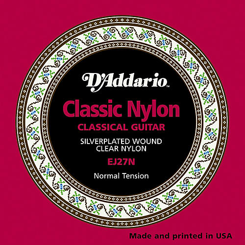 D'Addario EJ27N Normal Tension Classical Guitar Strings