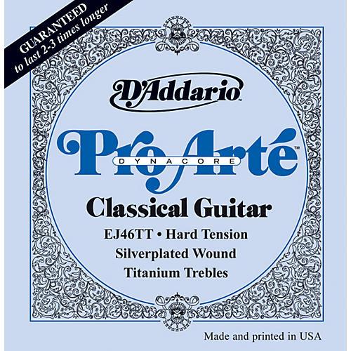 D'Addario EJ46TT ProArte DynaCore Hard Classical Guitar Strings