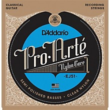 D'Addario EJ51 Pro-Arte Semi Polished Basses Hard Tension Classical Guitar Strings
