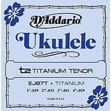 D'Addario EJ87T Titanium Tenor Ukulele Strings
