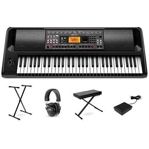 Korg EK-50 L Portable Keyboard Essentials Package