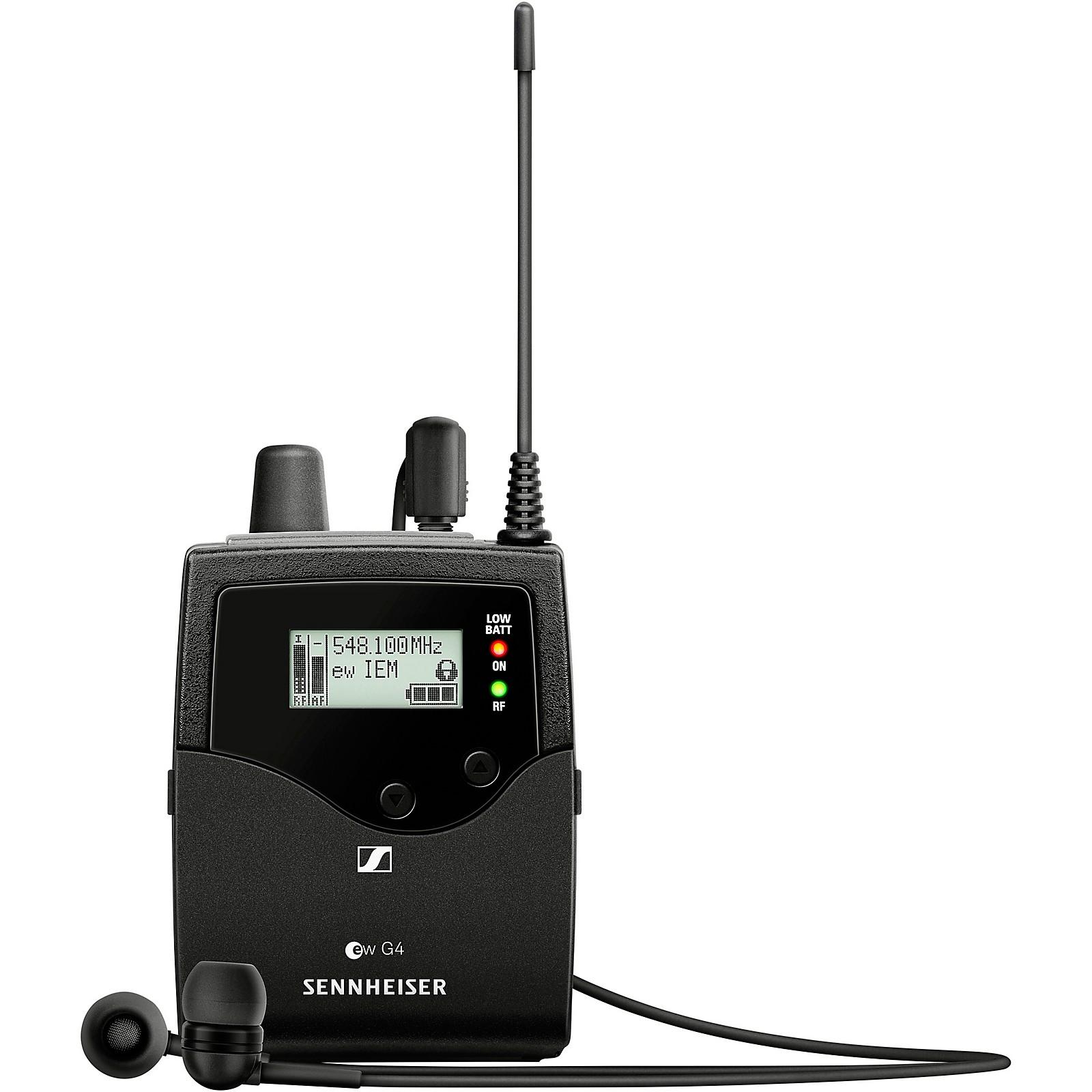 Sennheiser EK IEM G4 Stereo Bodypack Receiver with IE4 Earbuds