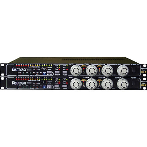 Empirical Labs EL8X Distressor Compressor Stereo Pair With British Mod and Image Link