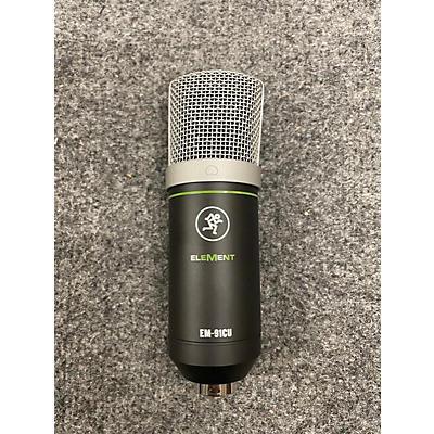 Mackie ELEMENT EM-91CU USB Microphone