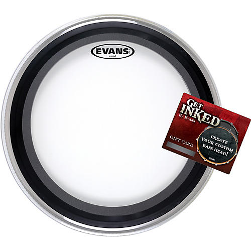 Evans EMAD Bass Drumhead Pack 22