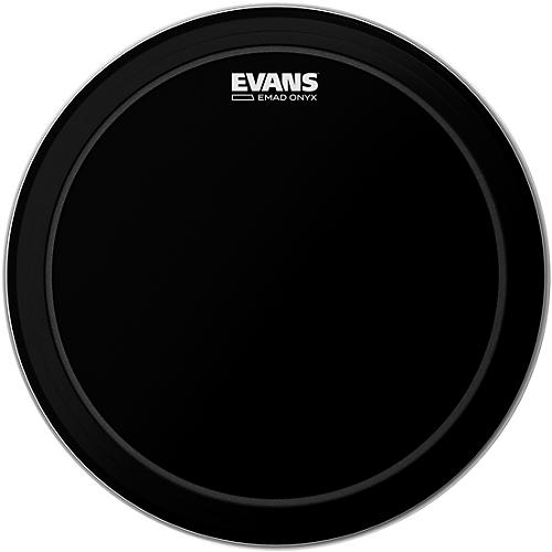 Evans EMAD Onyx Bass Batter Drumhead 18 in.