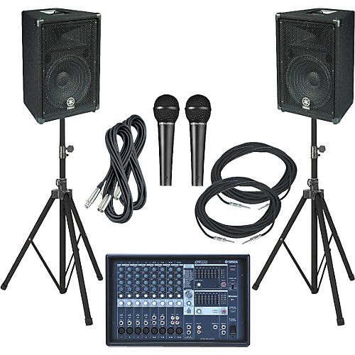 Yamaha EMX212S-BR12 PA Package