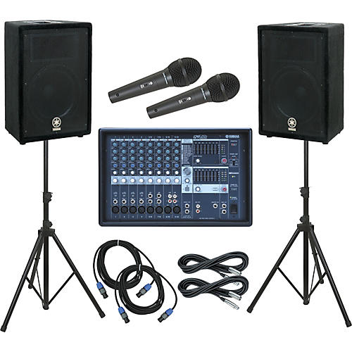Yamaha EMX212S Mixer / A12 Speaker PA Package