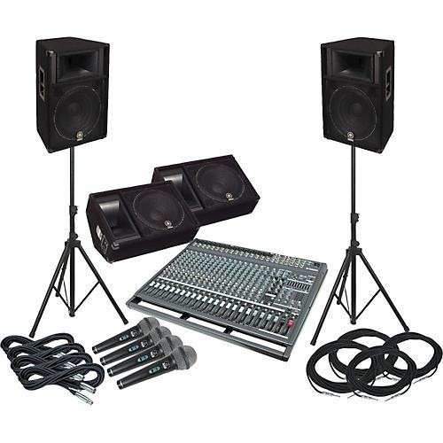 Yamaha EMX5000-20/S115V-M Complete PA & Monitor System