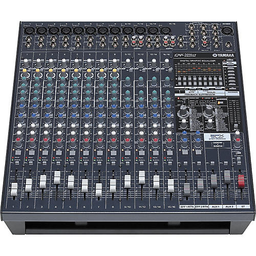 Yamaha emx5016cf 16 channel powered mixer musician 39 s friend for Yamaha 16 channel mixer mg16 4