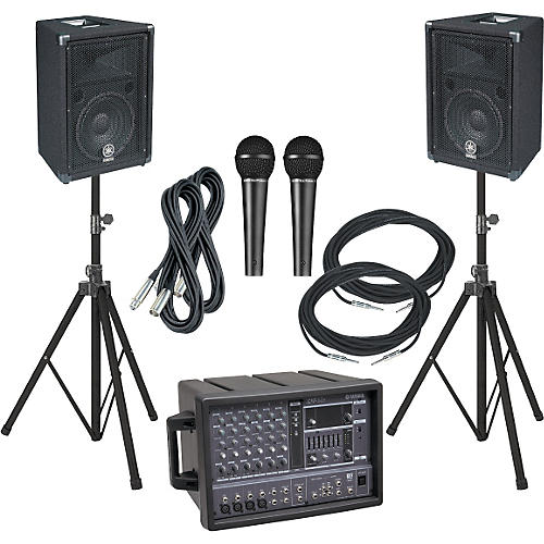 Yamaha EMX62M/BR10 PA Package