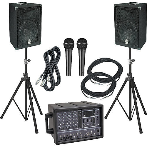 Yamaha EMX62M/BR12 PA Package