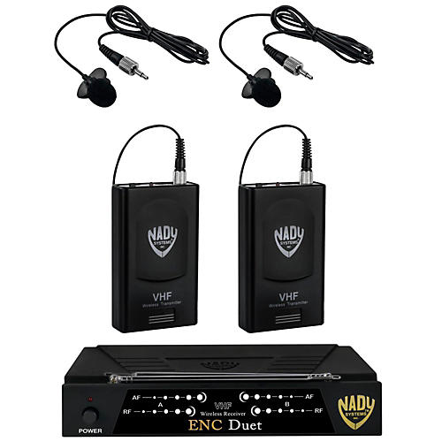 Nady ENC Duet Dual Wireless Combo System/A & F Band