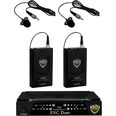 Nady ENC Duet Dual Wireless Lapel Microphone System