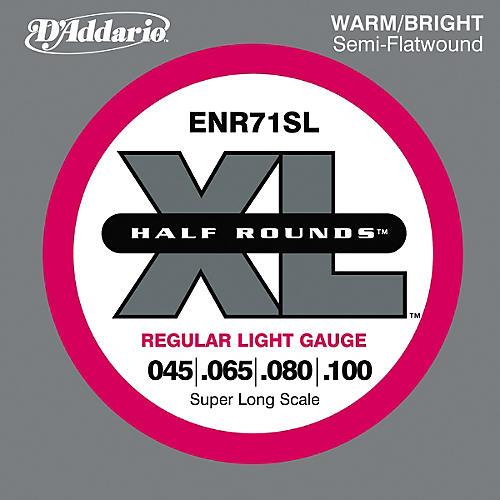 D'Addario ENR71SL Half Rounds Light Bass Strings