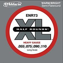 D'Addario ENR73 Half Rounds Heavy Bass Strings
