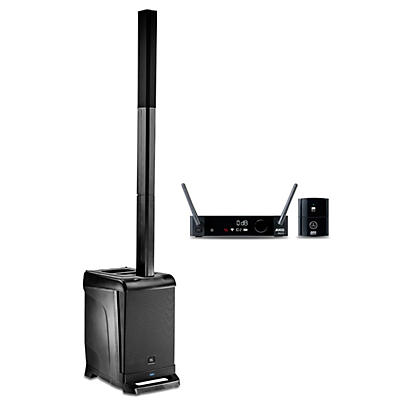JBL EON ONE PA Package with DMS300 Wireless Instrument Mic