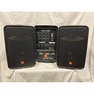 JBL EON208P Sound Package