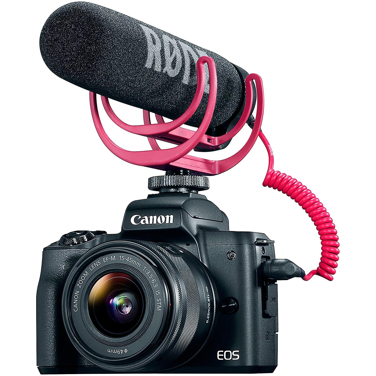 CANON EOS M50 (Black) Video Creator Kit