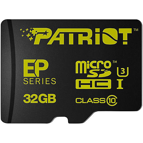 Patriot EP 32GB Series Flash microSDHC Class 10