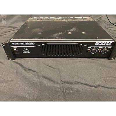 Behringer EP2000 Power Amp