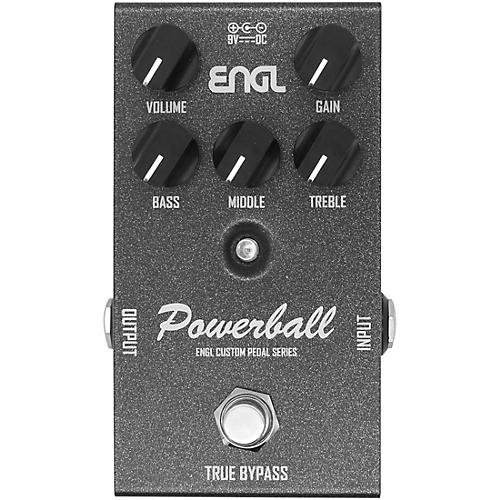 Engl EP645 Powerball Custom Preamp Guitar Effects Pedal Black