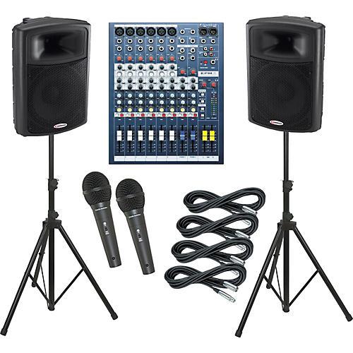 Soundcraft EPM6 / Harbinger APS15 PA Package