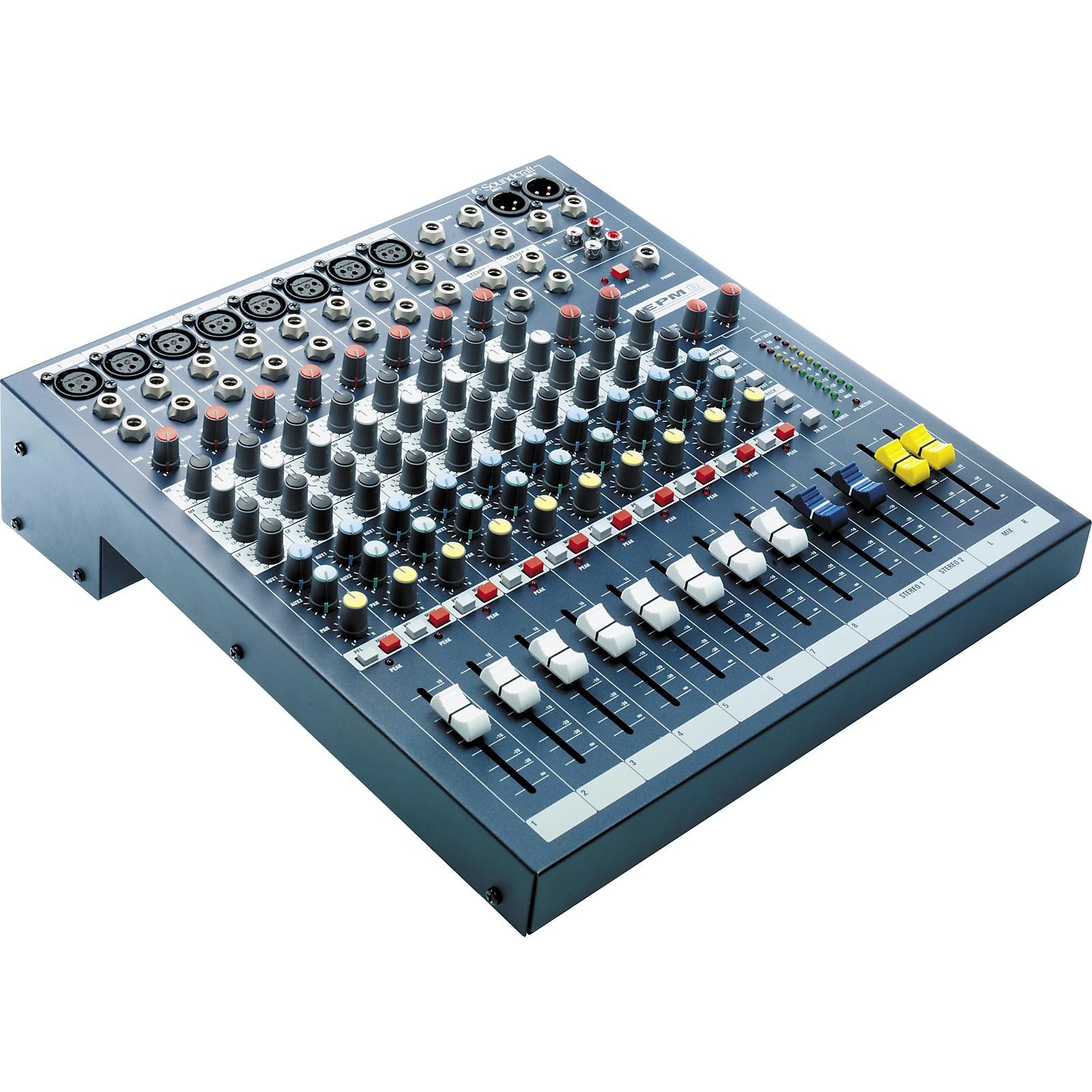 Soundcraft EPM8 8-Channel Multi-format Mixer