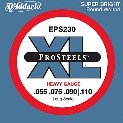 D'Addario EPS230 ProSteel Long Scale Bass Strings Heavy