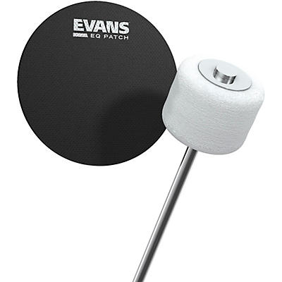 Evans EQ Bass Drum Patch