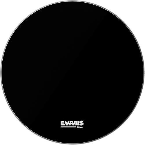 Evans EQ3 Black Resonant Bass Drumhead 26 in.