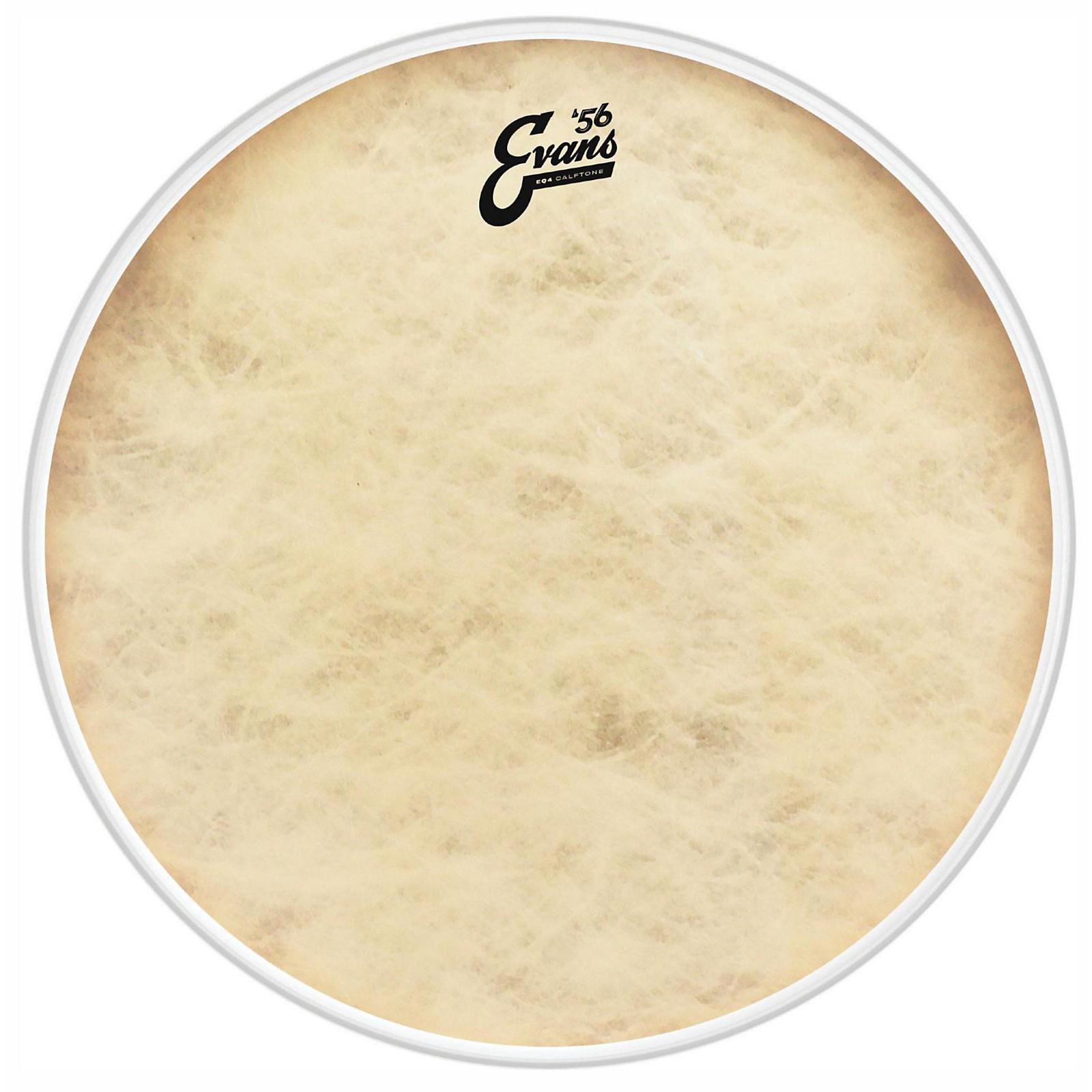 Evans EQ4 Calftone Tom Hoop Drum Head