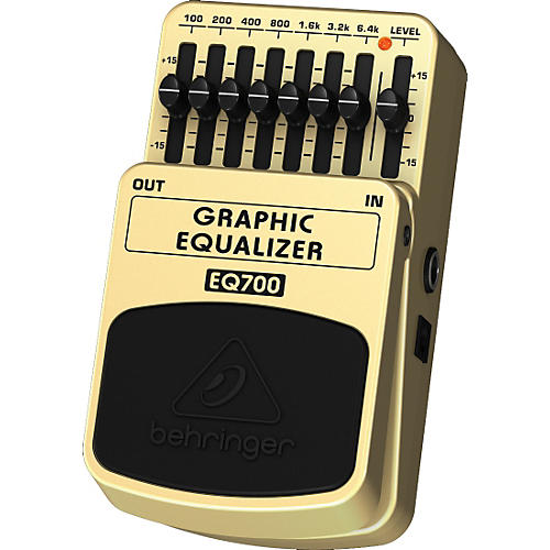 behringer eq700 graphic equalizer 7 band eq pedal musician 39 s friend. Black Bedroom Furniture Sets. Home Design Ideas