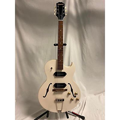 "Epiphone ES-125TDC ""White Fang"" Hollow Body Electric Guitar"