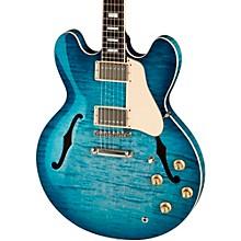 ES-335 Figured Semi-Hollow Electric Guitar Glacier Blue