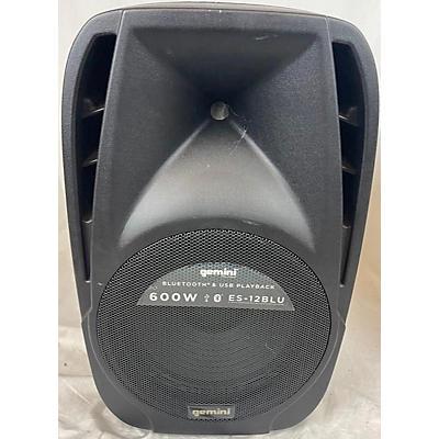 Gemini ES12 BLU Powered Speaker