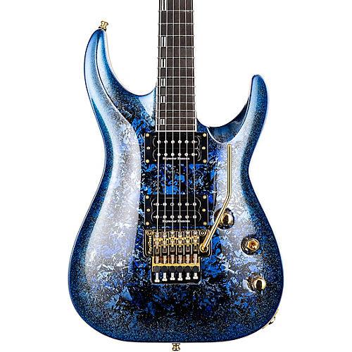 ESP ESP Horizon PT Custom electric guitar Blue Pearl