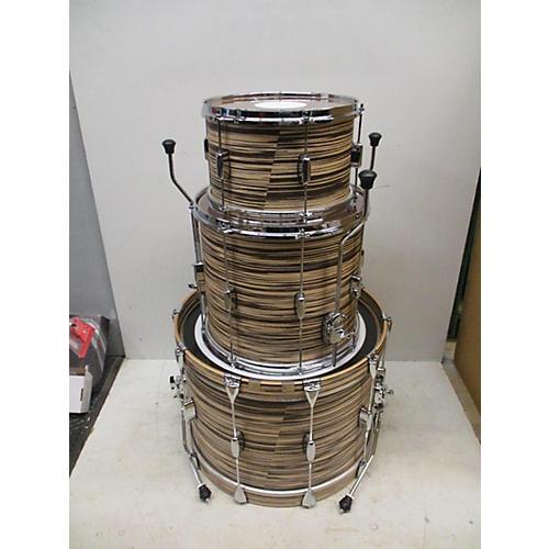 Barton Drums ESSENTIAL BIRCH Drum Kit ZEBRA BARTEX