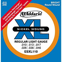 D'Addario ESXL110 Steinberger Regular Light Double Ball End Electric Guitar Strings