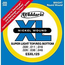 D'Addario ESXL125 Double Ball End Light/Electric Guitar Strings