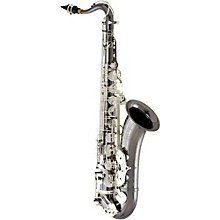 ETS640 Professional Tenor Saxophone Black Nickel Plated Body with Silver Plated Keys