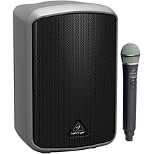 Open BoxBehringer EUROPORT MPA100BT Portable Bluetooth Speaker with Wireless Microphone