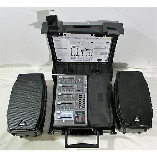 Behringer EUROPORT PPA200 Sound Package