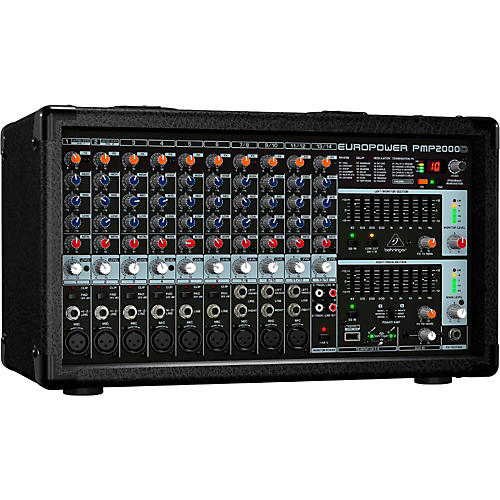 Behringer EUROPOWER PMP2000D 2,000W 14-Channel Powered Mixer with Multi-FX Processor Condition 2 - Blemished  194744107405