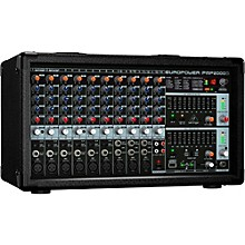 Open Box Behringer EUROPOWER PMP2000D 2,000W 14-Channel Powered Mixer with Multi-FX Processor