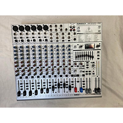 Behringer EURORACK UB1832FX Powered Mixer