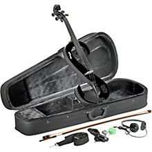EVA 44 Series Electric Viola Outfit Black