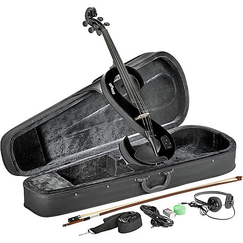 Stagg EVA 44 Series Electric Viola Outfit Black
